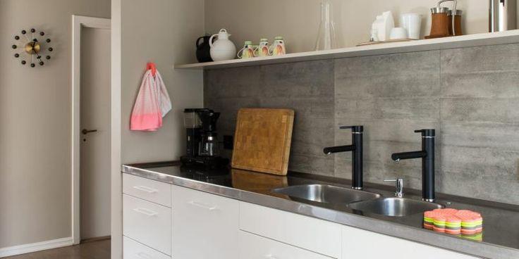Nyrenovert leilighet i femtitallsblokk på Eiksmarka