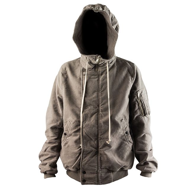 DRKSHDW by Rick Owens Hooded Bomber (DNA Dust)