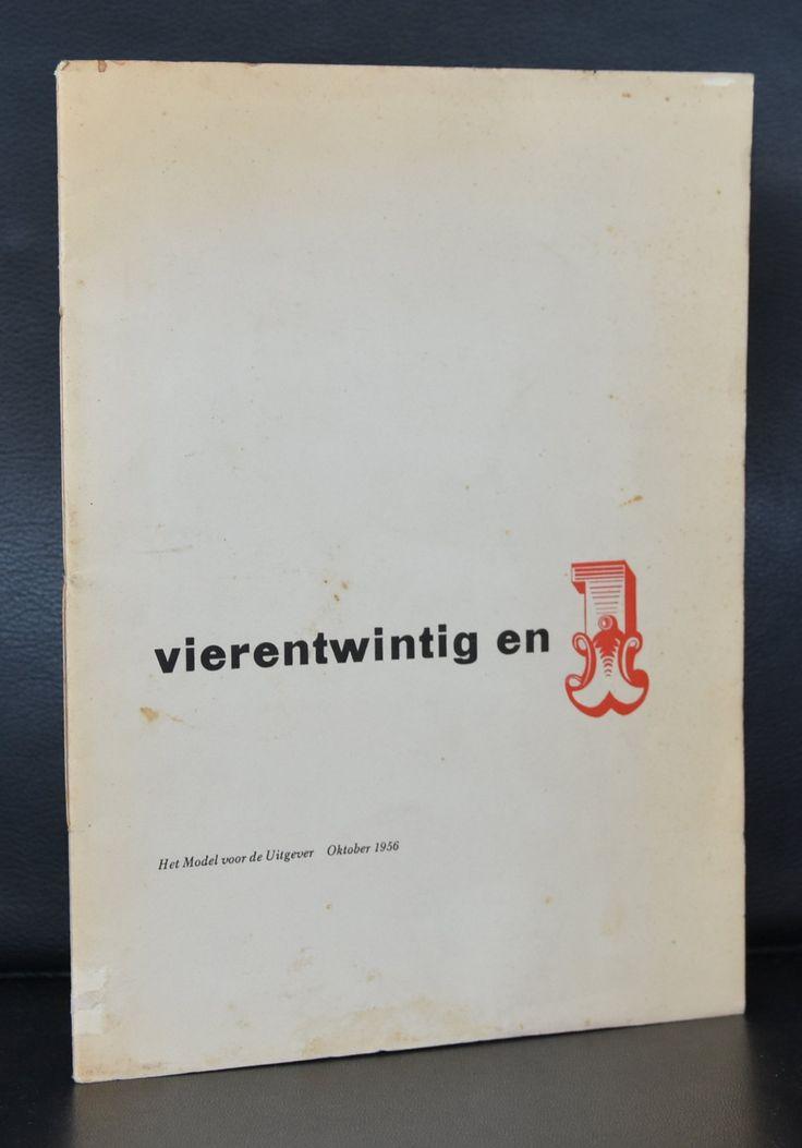 model voor de uitgever # VIERENTWINTIG en 1 # 1956, nm