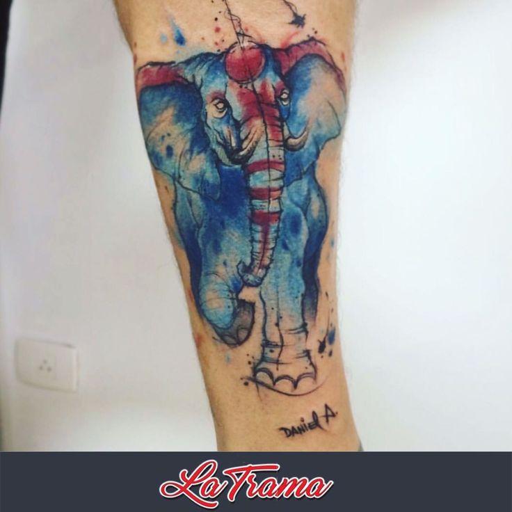 Tattoo feita em Studio La trama pela fera @dn_alves