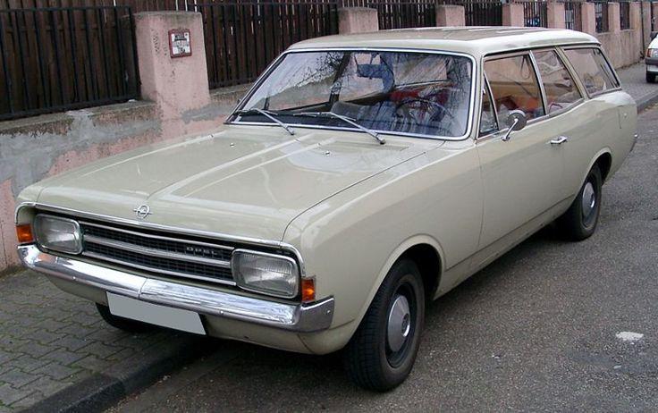 Opel rekord model C year 1978
