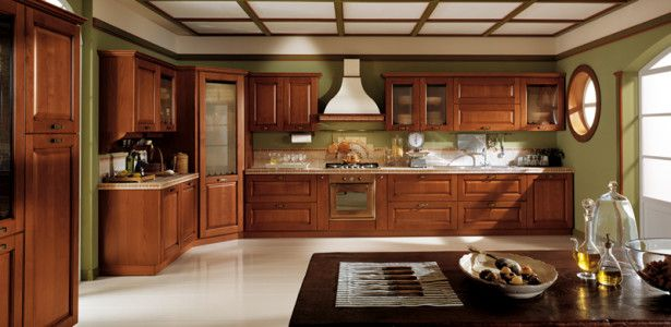 Sage Green Kitchen Walls Classic Kitchen Designs From