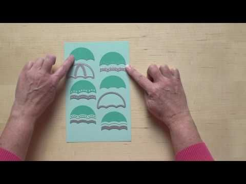 Weather Together Stamp Set and Umbrella Weather Framelits Dies by Stampin' Up! - YouTube