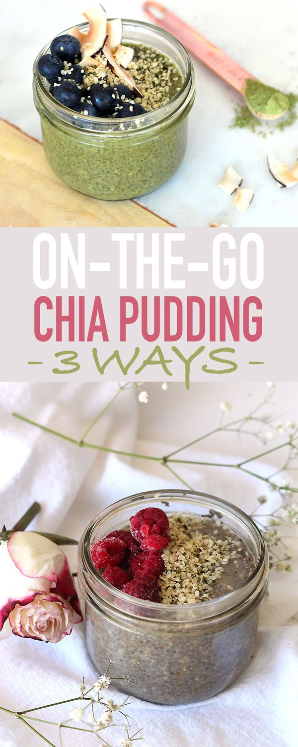 how to make chia seed breakfast pudding
