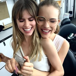 Carlson Young and Willa Fitzgerald