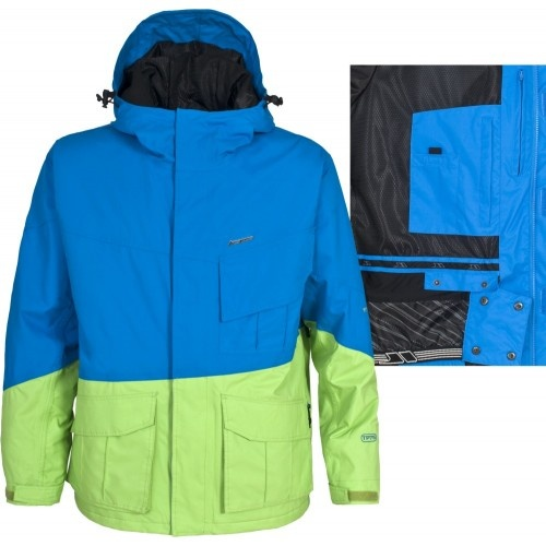 Jacheta de ski/board Trespass Mashed Cobalt Preţ: 299 Lei