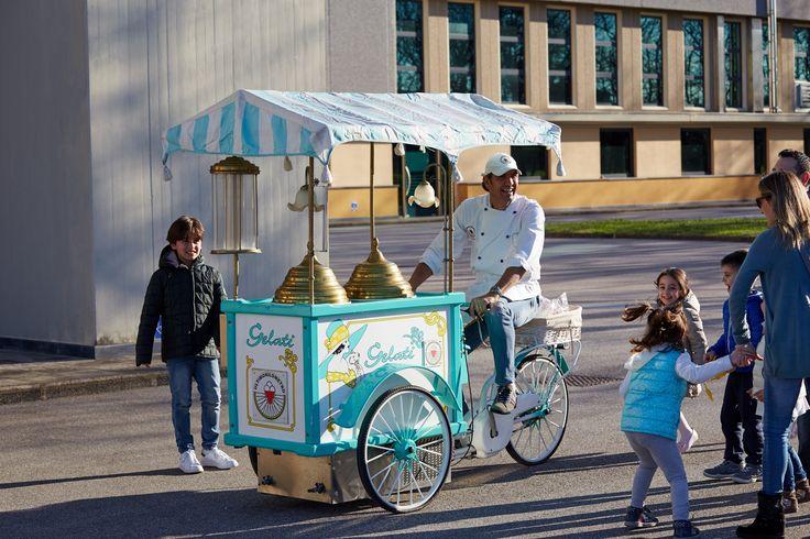 Il carrettino del gelato!!!