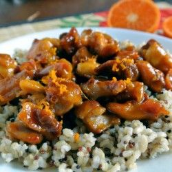 Clementine Glazed Chicken | Amazing Recipes from Amazing Food Blogger ...