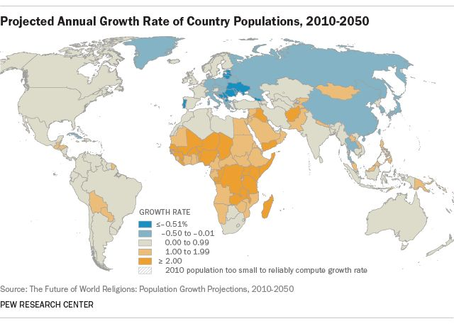 142 best World   Society   Population   Environment images on - best of world map showing population growth