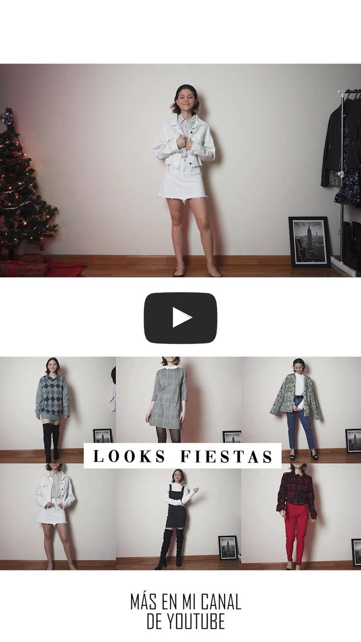 como vestir para fiestas: navidad, año nuevo Cool, Instagram Feed, Casual Outfits, Ballet Skirt, Holidays, Skirts, Youtube, Crafts, Beauty