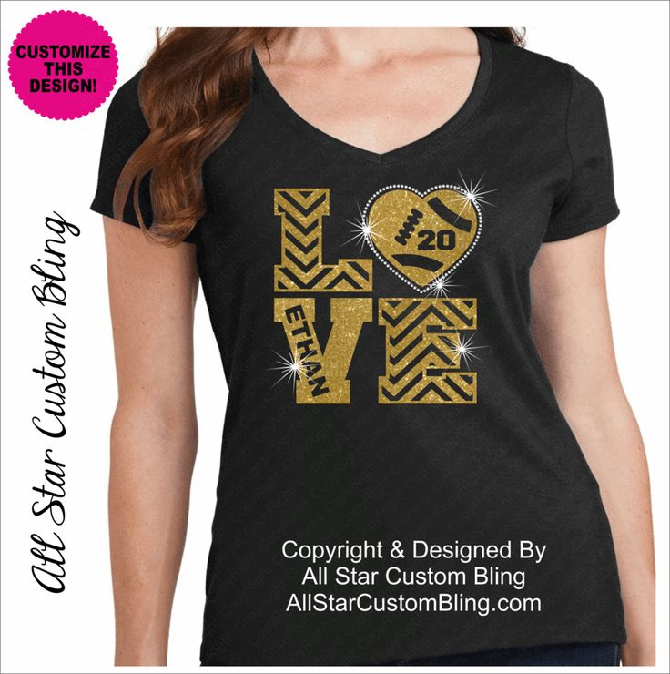Awesome Best 20+ Bling Shirts Ideas On Pinterest | Pink Bling, Custom Football And  Custom Football Shirts