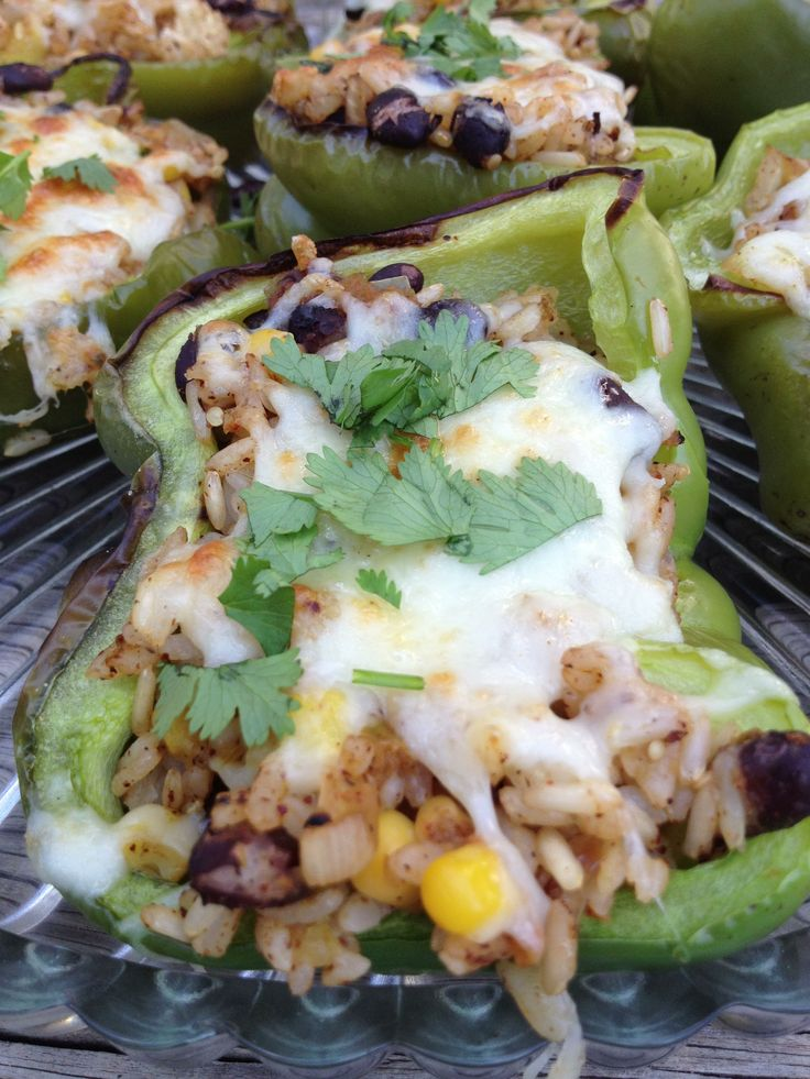 Southwest Stuffed Peppers from The Haas Machine on MyRecipeMagic.com