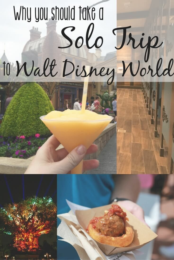 There are a number of great reasons you should consider a solo trip to Disney World at least once in your life.