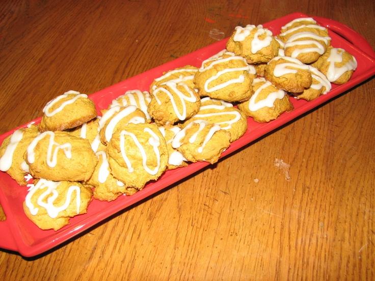 yummy easy pumpkin cookies
