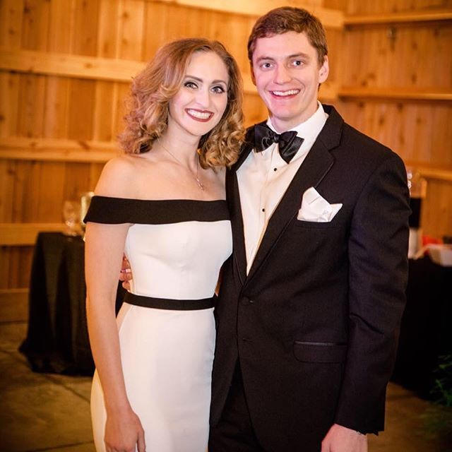 Gorgeous photo of @jetsetplanning in #lafemmefashion and her date for a Gala Event! Black and white works for so many occasions! ❤️❤️❤️  #gala #charity #fashion #style #instastyle #instafashion #gorgeous #loveit #blackandwhite #prom #prom2017 #prom2k17 #promdress #promdresses #amazing #hair #makeup #promhair #dance #instagood #love