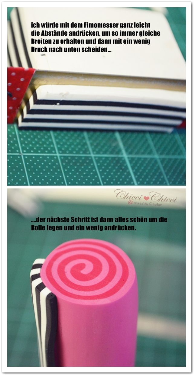 Fimo Knöpfe DIY – Step by Step   Chicci ♥ Chicci made with love