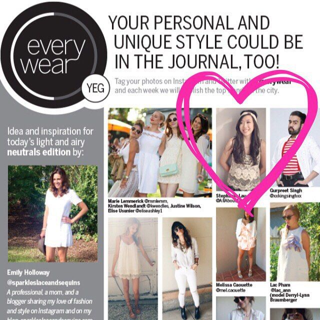 So excited to see @allaboutami in the @edmontonjournal #everywear section today wearing our everyday every way headband!! #houseofkoopslie  #koopsliehead #yegmedia