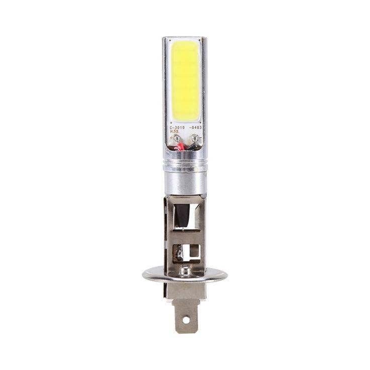 H1 DC12V 6000K Car Fog Lights Xenon White COB LED Bulbs Car DRL Driving Lamps Lights Super Bright 1pcs