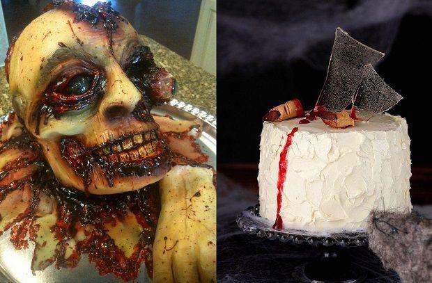 Страшные торты на заказ