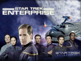 Keith and I are currently watching Star Trek Enterprise. I am loving this show and finally realizing my full geek potential! :)