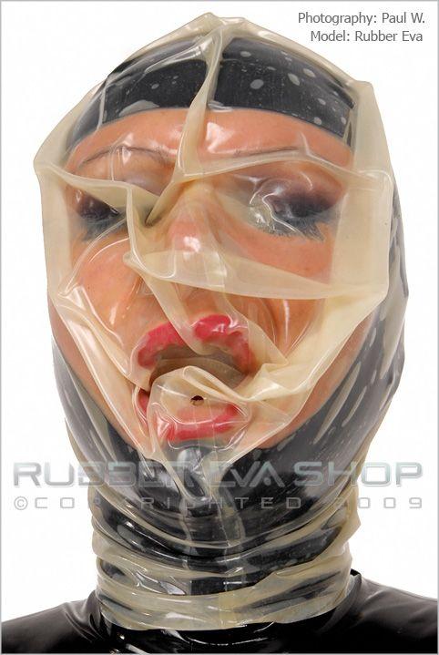 Re-Breather Hood - Rubber Hoods - Rubber Eva Shop