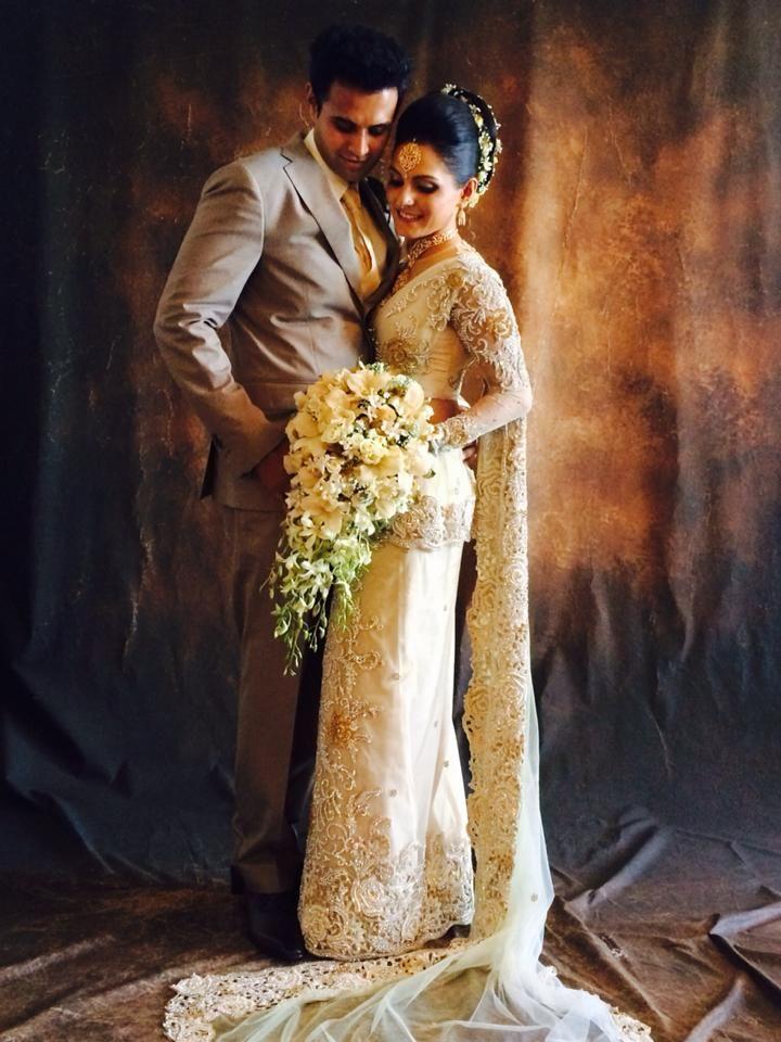 Nalin perera wedding dress