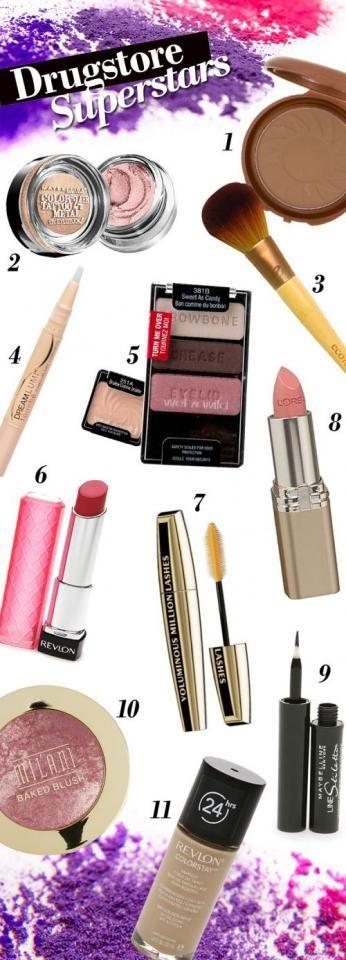 Best Drugstore Makeup! #Fashion #Beauty #Trusper #Tip