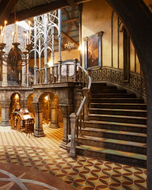 The library in rivendell middle earth pinterest for Hobbit themed bedroom