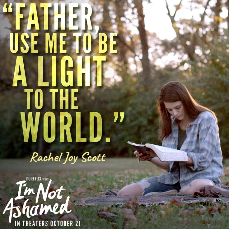 I'm Not Ashamed in now playing in #theaters! You won't want to miss the story of Rachel Joy Scott.