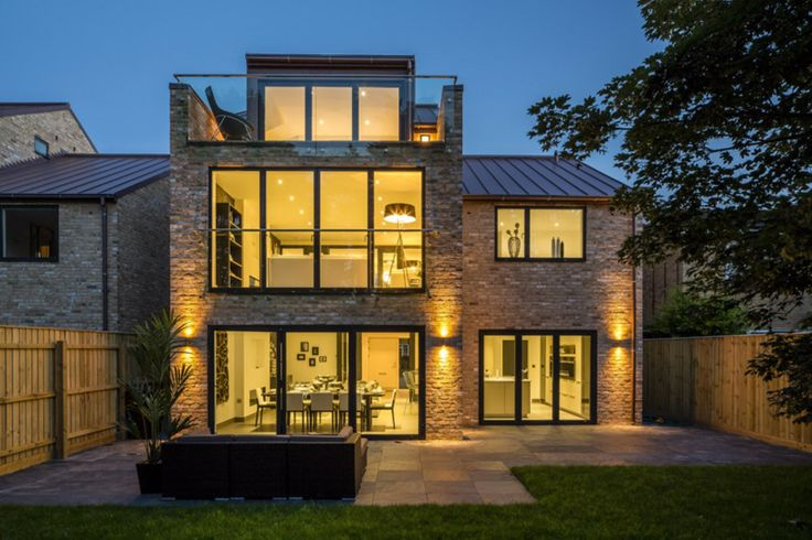 Low energy performance and slim frame design. Architect: DPA Architects Ltd.