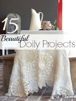 The Doily Revival - Repurposing Doilies | Redo It Yourself Inspirations | Bloglovin