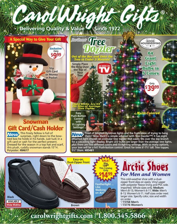 13 Free Gift Catalogs That Come In the Mail: Carol Wright Gifts Catalog