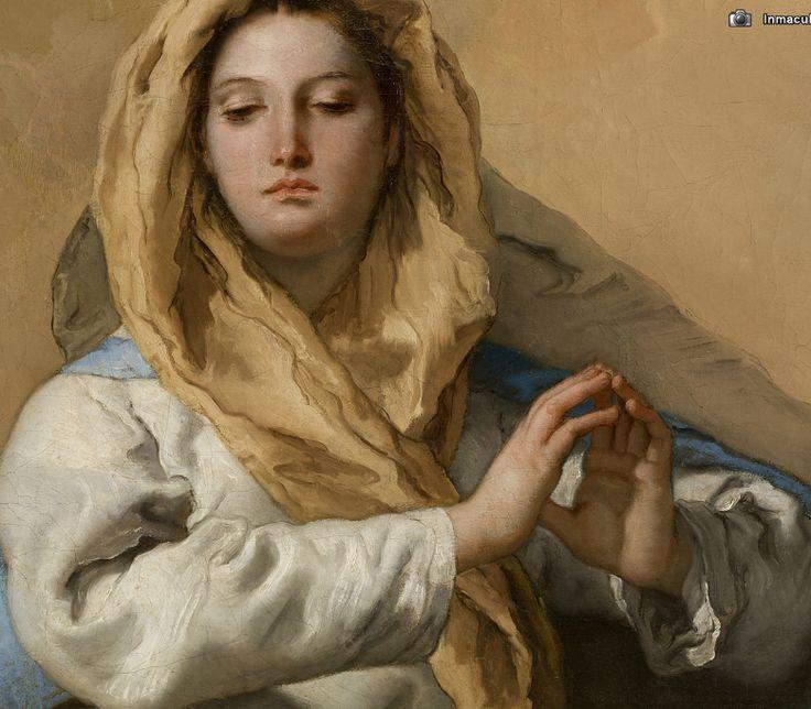 Inmaculada Concepción, Tiepolo, 1768