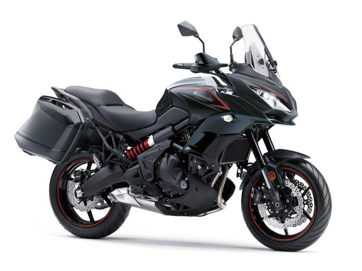 2018 Kawasaki Versys 650 LT ABS Review: MORE THAN THE SUM OF ITS PARTS. 2018… #2018MotorcycleModels #Motorcycle #2018 #adventure #benefits