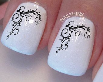 Vines Nail Decal, Nail Art Design by NAILTHINS