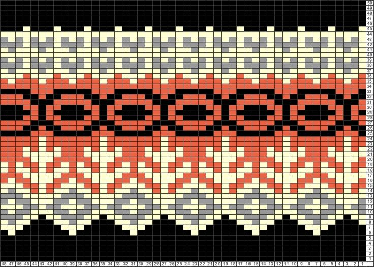 4408 best Charts for Fair Isle, Jacquard, crochet, cross-stitch ...