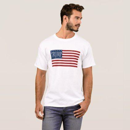 TRUMP FLAG GEAR T-Shirt - personalize design idea new special custom diy or cyo