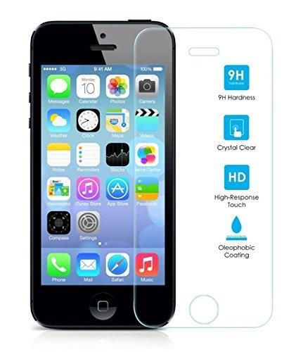 Oferta: 1.26€. Comprar Ofertas de Protector de Pantalla para Iphone 5/5S/5C/SE Cristal Vidrio Templado Premium, Electrónica Rey® barato. ¡Mira las ofertas!