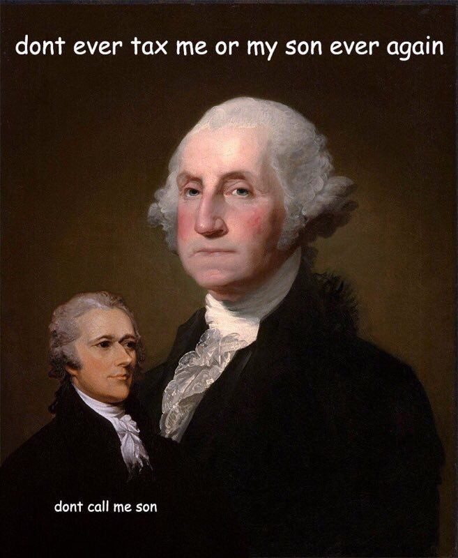 washington and hamilton relationship