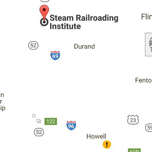 3847 Ryan Place, Northwood, OH 43619 to Steam Railroading Institute, 405 South Washington Street, Owosso, MI 48867 - Google Maps
