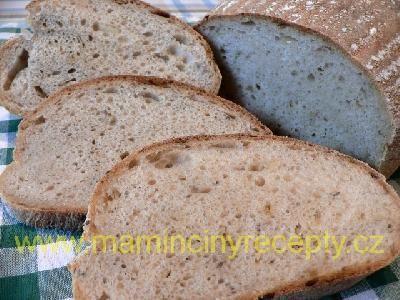 Chléb s podmáslím a cibulkou