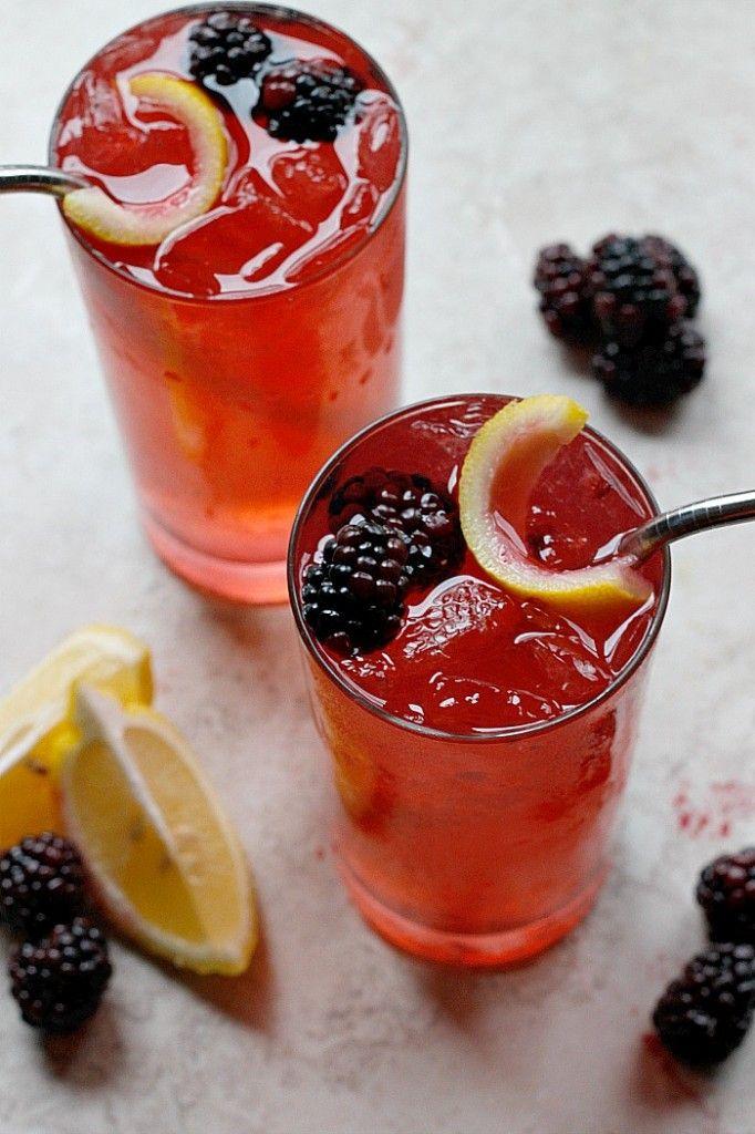Blackberry Ginger Crush - Fabtastic Eats