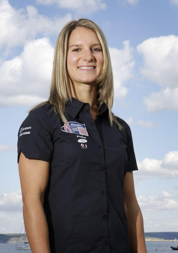 Bryony Shaw - Sailing. Women's RS:X (Windsurfing.)