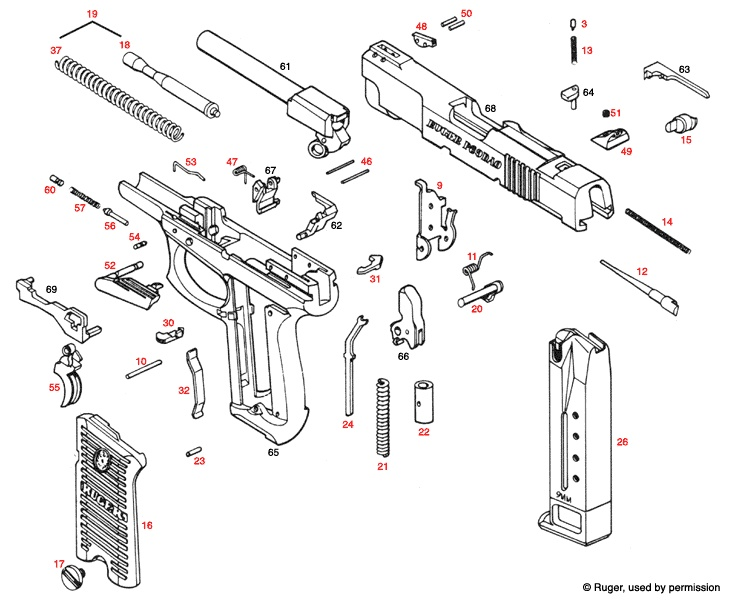Ruger - P89 Find our speedloader now! http://www.amazon.com/shops ...