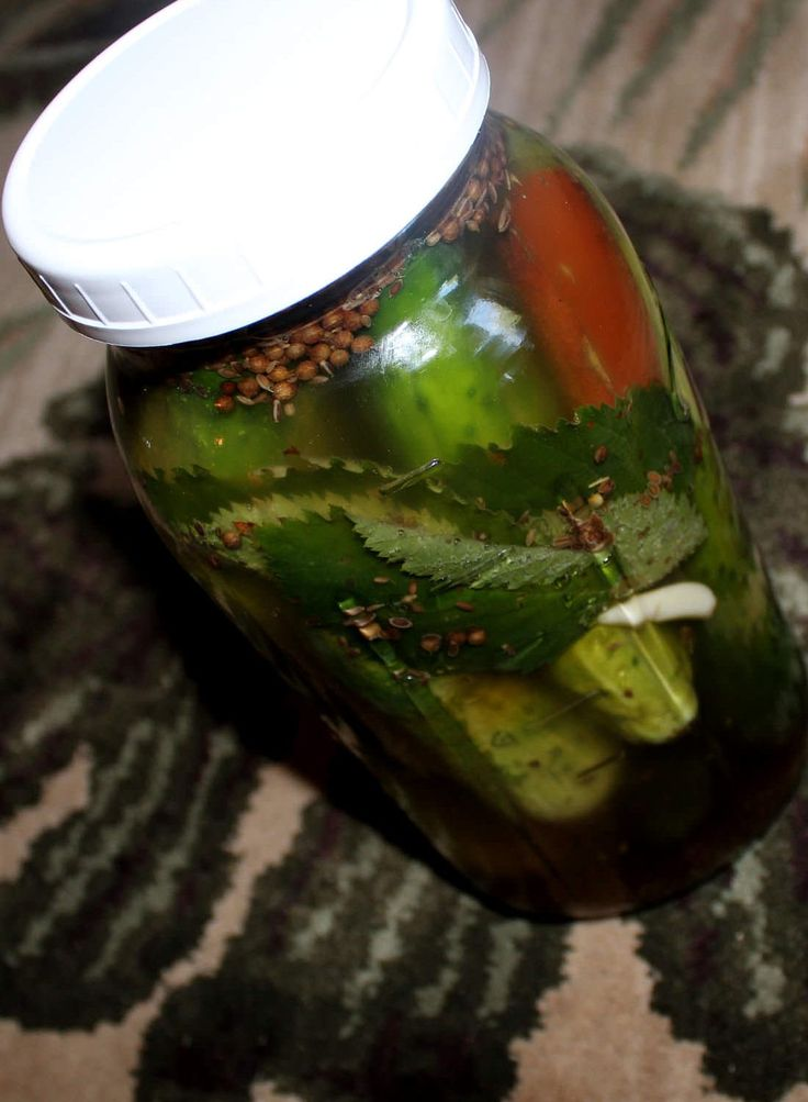 Cinnamon Dill Pickles