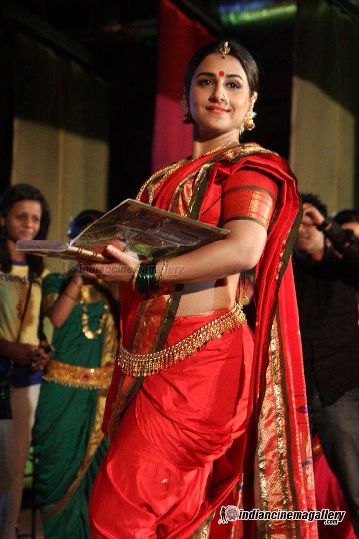 Vidya balan in Nauvari saree
