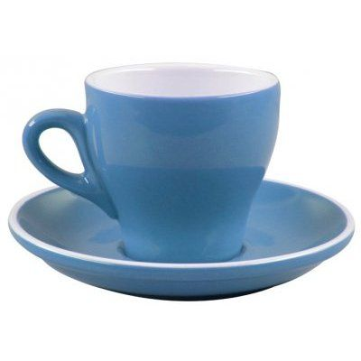 Rockingham Long Black Cup Blue 180ml