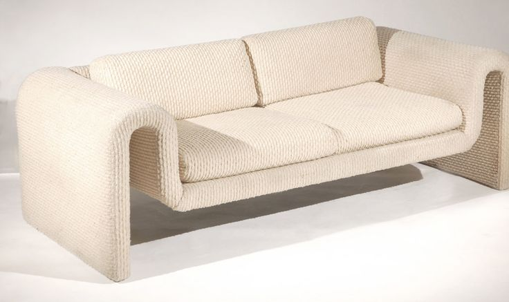 Rare Sofa by Steve Leonard for Brayton International | From a unique collection of antique and modern loveseats at http://www.1stdibs.com/furniture/seating/loveseats/