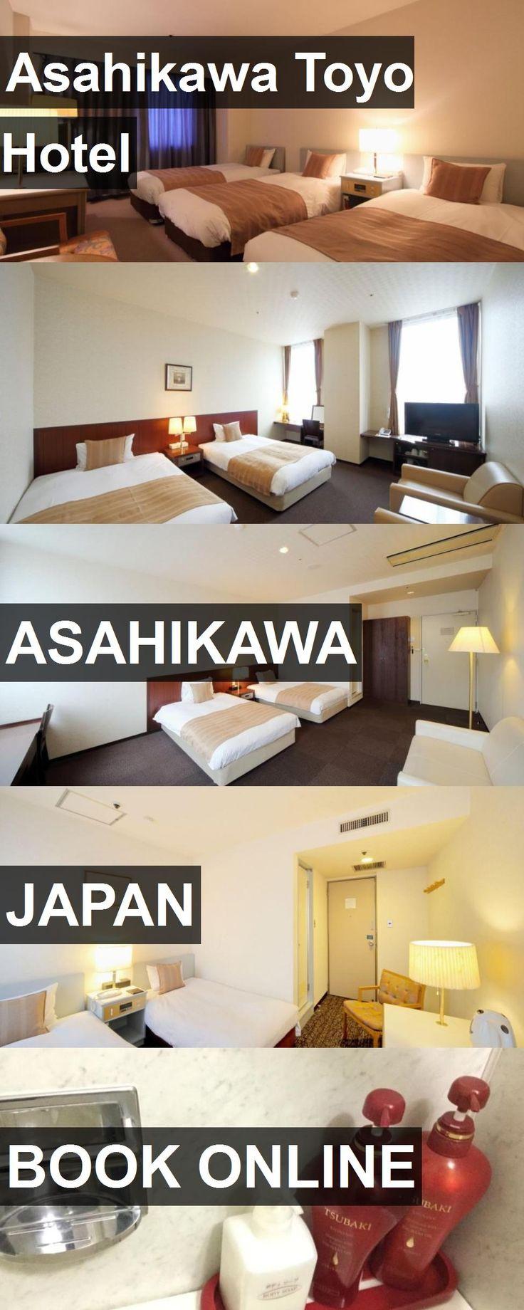Hotel Asahikawa Toyo Hotel in Asahikawa, Japan. For more information, photos, reviews and best prices please follow the link. #Japan #Asahikawa #AsahikawaToyoHotel #hotel #travel #vacation