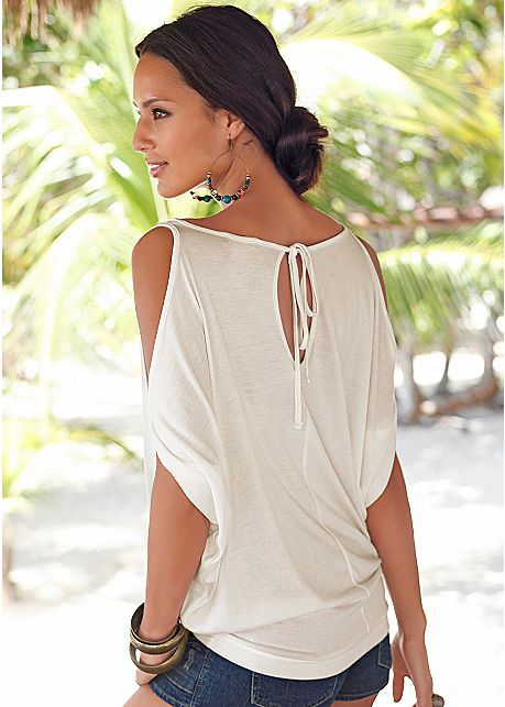 %PC% Cold shoulder top from VENUS